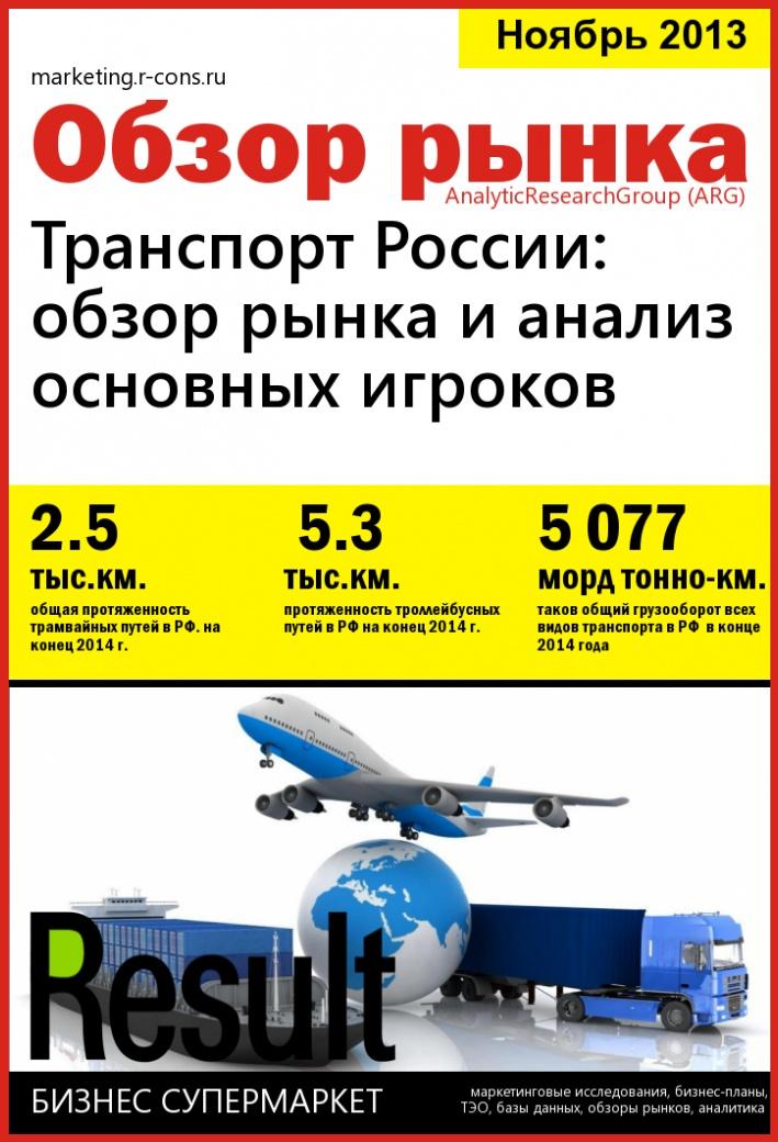 Транспорт России: обзор рынка и анализ основных игроков style=